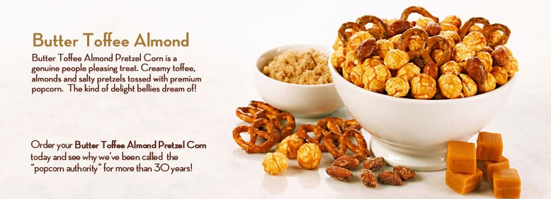 toffee almond popcorn balls recipes dishmaps butter toffee with almond ...