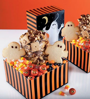 19004z Set of 2 Boo! Mini Treat Samplers