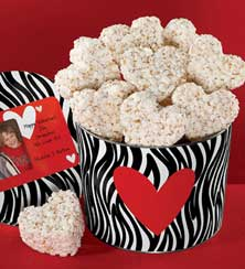 Wild About You Popcorn Hearts