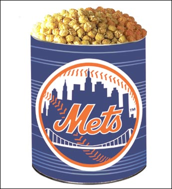 New York Mets 3-Way Popcorn