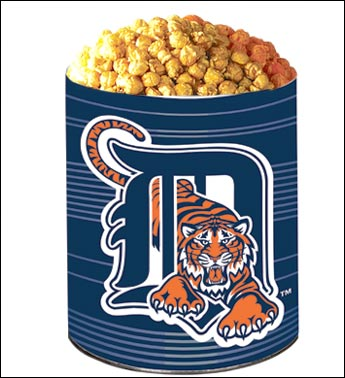 detroit tigers logo. Detroit Tigers 3-Way Popcorn