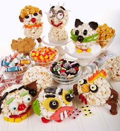 27480z Halloween Popcorn Ball Decorating Kit