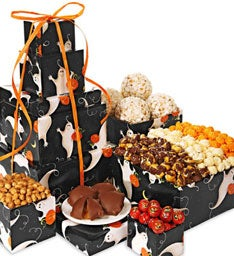 27483z Boo! Popcorn and Treat Towers