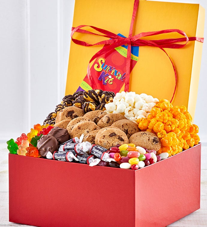 Survival Sampler - Popcorn, Cookie, Chocolate Sampler