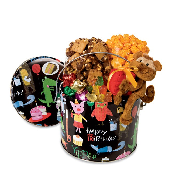 Kids Candy and Popcorn Gift